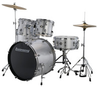 LUDWIG ACCENT 5-PIECE DRUM SET SILVER