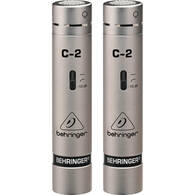 BEHRINGER C-2 CONDENSER MATCHED PAIR