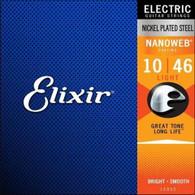 ELIXIR NANOWEB .010-.046 ELECTRIC STRINGS