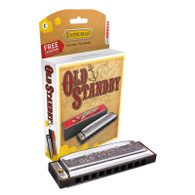 HOHNER 34-BXG THE OLD STANDBY HARMONICA G