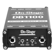 ON-STAGE DB1100 ACTIVE DI BOX