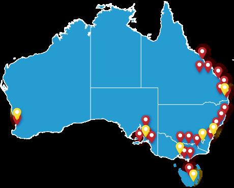 HEARING SAVERS Melbourne Sydney Brisbane Perth Adelaide Gold Coast Sunshine Coast Hobart
