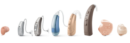 HEARING SAVERS hearing aid styles