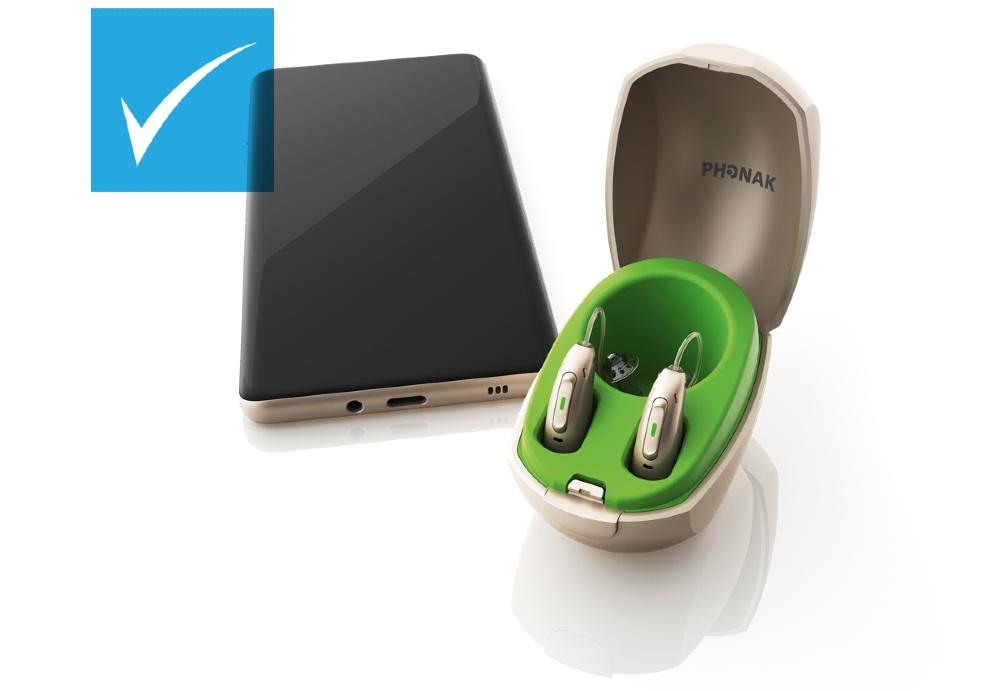 Phonak hearing aids discounted at HEARING SAVERS