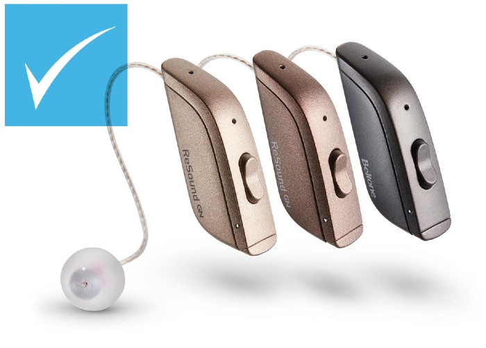 ReSound One hearing aids discounted at HEARING SAVERS