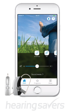 Widex BEYOND made-for-iPhone hearing aid