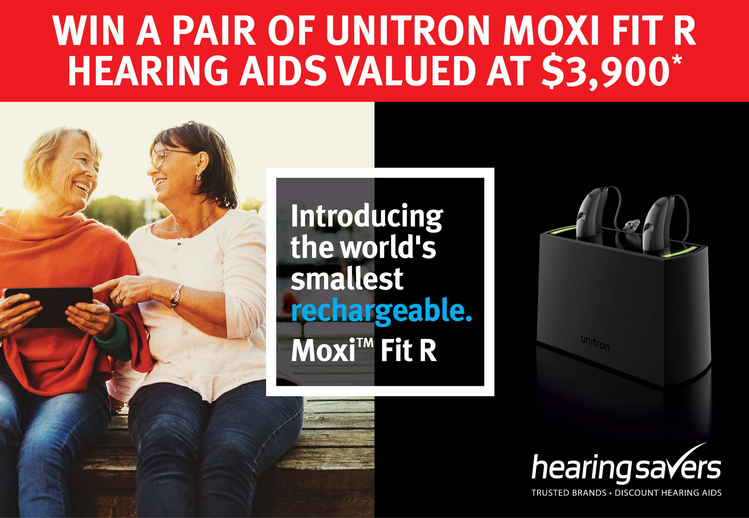Win a pair of hearing aids valued at $3900