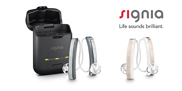 Siemens Signia Styletto hearing aids