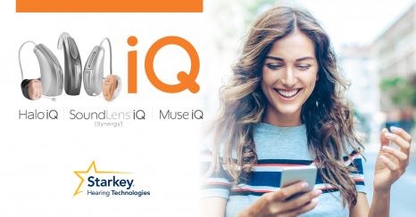 Starkey iQ hearing aids