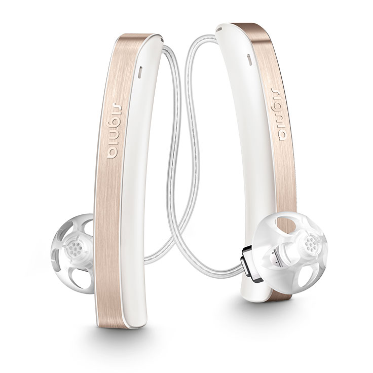 Styletto hearing aids