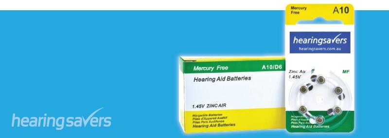 HEARING SAVERS Hearing Aid Batteries