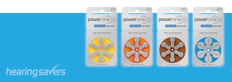 Power One Hearing Aid Battery Sizes