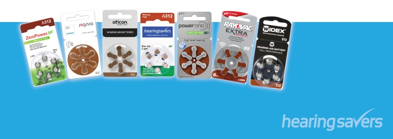 Hearing Aid Battery Trial Pack