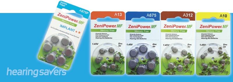 ZeniPower Hearing Aid Batteries