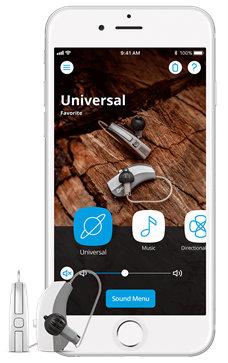 Widex EVOKE smartphone app