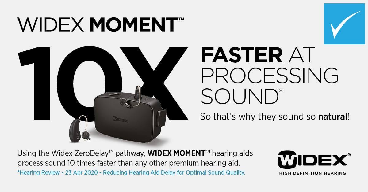 Widex hearing aids zero delay