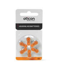 Oticon Hearing Aid Batteries size 13