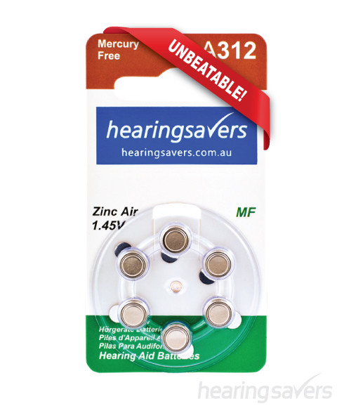 Hearing aid batteries 312