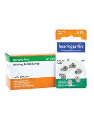 Hearing aid batteries 13 bulk