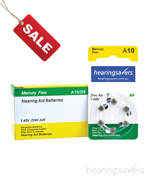 Hearing aid batteries 10 bulk