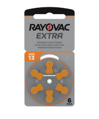 Rayovac Extra Hearing Aid Batteries Size 13