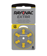 Rayovac Extra Hearing Aid Batteries size 10
