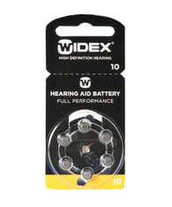 Widex Hearing Aid Batteries Size 10