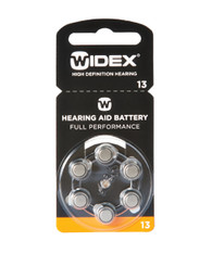 Widex Hearing Aid Batteries Size 13