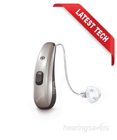 Siemens Signia 2Nx Charge & Go RIC hearing aid