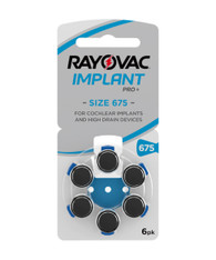 Rayovac Implant Pro+ Size 675