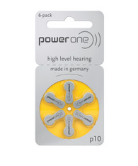 Power One hearing aid battery size 10