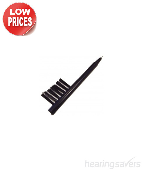Hearing Aid Mini Brush cleaning brush with loop and magnet