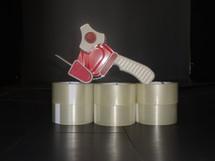 Pistol Grip Tape Dispenser With 6 Pk Tape