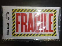 Fragile Sticker Pk 10