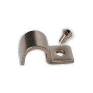 "Stainless Line Clamps 1/4"" (12 Pack) (PN#SSC-4)"
