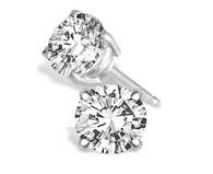 .40cttw Round Diamond Studs