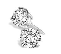 .50cttw Round Diamond Studs