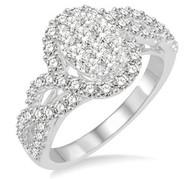 1 CTW Diamond Lovebright Ring
