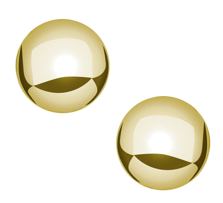 9ab89f0ee GE221 Gold Ball Earring - Hill's In-House Jewelers