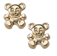 GE215 Bear Earrings