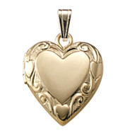 M331A Heart Locket Necklace