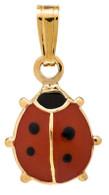 P158A Ladybug Necklace