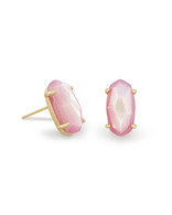 Kendra Scott Betty Earring Gold Tone/Blush Mother of Pearl