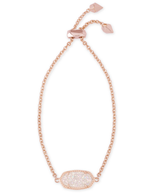 Kendra Scott Elaina Bracelet Rose Gold Tone/Iridescent Drusy