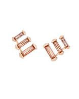 Kendra Scott Brooks Earring Rose Gold Tone/Blush Crystal
