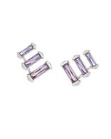 Kendra Scott Brooks Earring Rhodium/Lilac Crystal