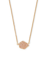 Kendra Scott Tess Necklace Gold Tone/Sand Drusy