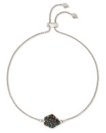 Kendra Scott Theo Bracelet Rhodium/Multi Drusy
