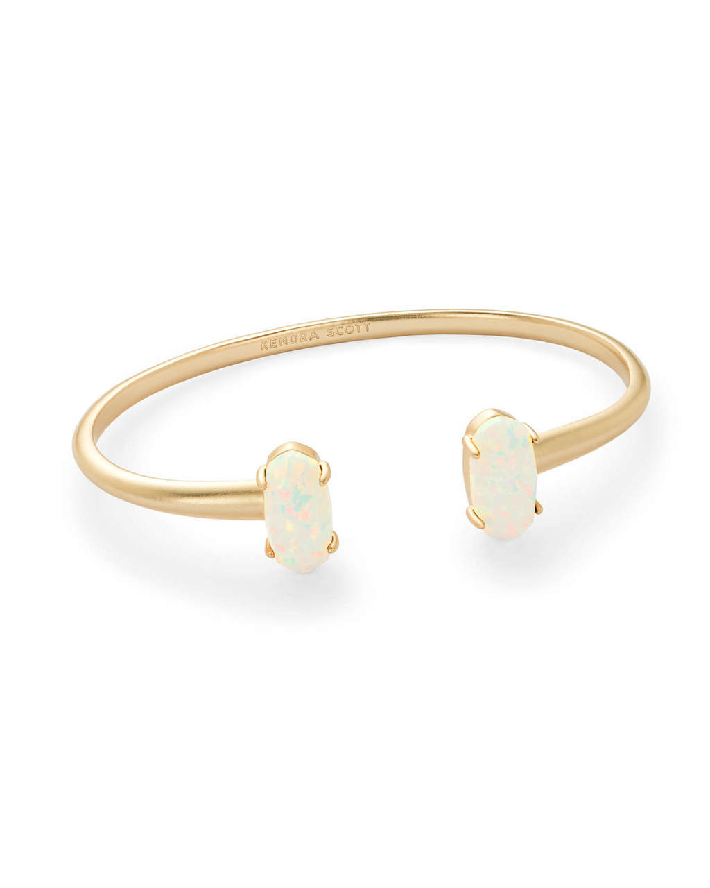 a7cac818d27084 Kendra Scott Edie Bracelet Gold Tone/White Opal. Price: $95.00. Image 1