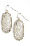 Kendra Scott Elle Earring Gold Tone Filigree